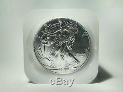 2014 Américain Silver Eagle Bu Roll (20 Par Tube) Us Mint