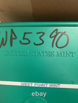 2015 500-coin Silver American Eagle Monster Box (scellé) West Point Mint Wp 5390