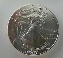 2015 Américain Silver Eagle Tube En Bon État (20) 1 Oz Pièces De Monnaie Dans Bu Condition