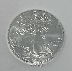 2015 Monnaie Rolls De 20 1 Troy Onces. 999 American Silver Eagles Fin Livraison Gratuite
