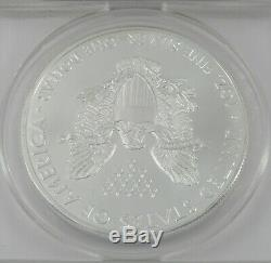 2015 P American Eagle Argent Anacs Ms69 Frappé À La Monnaie De Philadelphie 1of79640