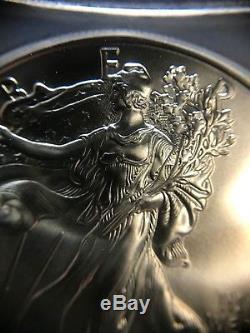 2015 (p) Silver Eagle Icg Ms70 S $ 1 Frappé À La Monnaie De Philadelphie 1 Sur Seulement 79 640