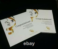2016 W American Silver Eagle Proof États-unis Mint Congratulations Set