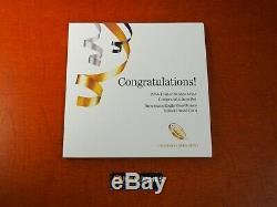 2016 W Félicitations Proof Silver Eagle Set 16rf Titre Original Mint Emballage