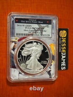 2016 W Proof Silver Eagle Pcgs Pr70 Dcam De 2020 West Point Mint Hoard Wp Core