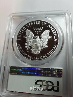2016 W Silver Eagle (2019 West Point Mint Hoard) Lettered Bord Pcgs Pr70dcam