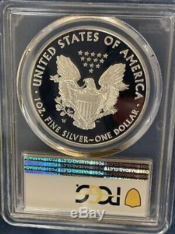 2016-w (2019) Silver Eagle, Pr70dcam, Wp Mint Hoard, Shanley Signés Coa N ° 1 Sur 10