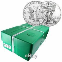 2017 Silver Eagle Us Mint Scellé Monstre Box