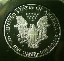 2017-w 1 Silver Eagle $ 2020 U. S. Monnaie D'urgence Enchères Ngc Pf70 Mercanti Rare