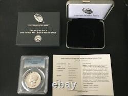 2018-w 1 Oz Preuve Palladium American Eagle Pcgs Pr-69 West Point Us Mint