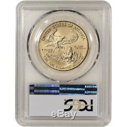 2018-w American Eagle Or Bruni 1 Oz $ 50 Pcgs Sp70 Premier Jour Wp Étiquette Monnaie