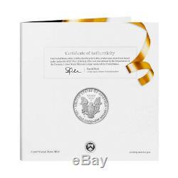 2018-w Monnaie Félicitations Set (18rf) American Eagle Proof Coin