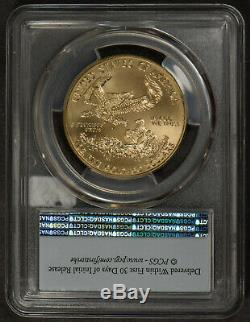 2019 $ 50 Pièces D'or 1 Oz American Eagle Pcgs Ms 70 Première Grève Coin Lot # R899