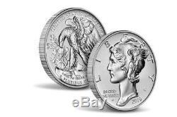 2019 American Eagle Palladium Inverse Proof 1 Oz Coin Mint Scellés