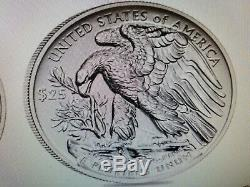 2019 American Eagle Palladium Reverse Proof 1 Oz. Pièce Mint! Vente Confirmée