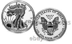2019 Fierté De Deux (2) Des Nations Us $ 1 American Silver Eagle Seulement West Point Mint