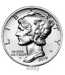 2019 Palladium 1 Oz Proof Inverse American Eagle (w) Ci-dessous Mint Prix