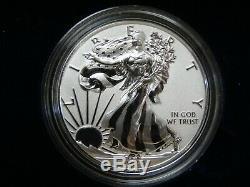 2019 W U. S. Monnaie Améliorée Inverse Épreuve Pride Of Nations Silver Eagle Point # 51