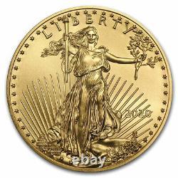 2020 1 Oz American Gold Eagle Bu (with. S. Mint Box)