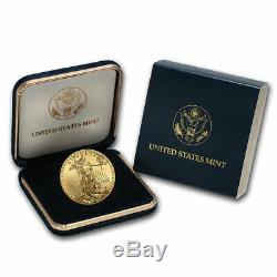 2020 1 Oz D'or American Eagle Bu (withu. S. Mint Box) Sku # 206182