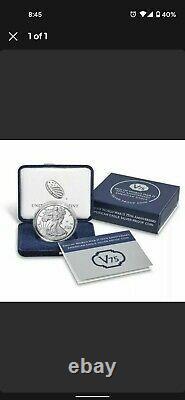 2020 American Mint Silver Eagle Proof Fin De Ww2 V75 Boîte Non Ouverte/scellée Ogp