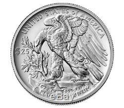 2020 Palladium American Eagle Uncirculated Un Coin Mint Scellés Ounce