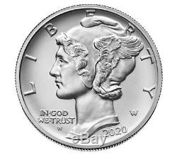 2020 Us Mint 1 Oz American Eagle Palladium Ongecirculeerd Coin