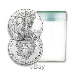 2020 Us Silver Eagle 1 Oz Coin Lot De 100