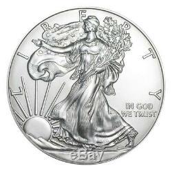 2020 Us Silver Eagle 1 Oz Coin Lot De 10