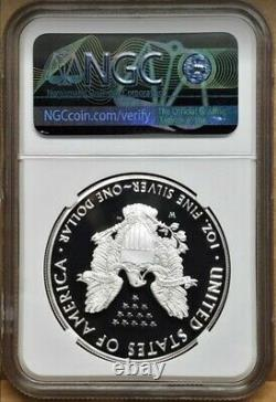 2020 W World War II 75th Anniv Silver Eagle V75, Ngc Pf70uc, Seulement 75k Minted