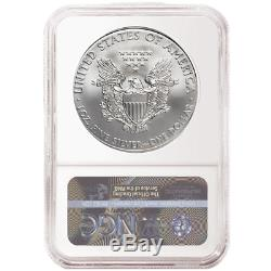 2020 (p) Silver Eagle Ngc Ms70 Libération Anticipée D'urgence Problème Monnaie De Philadelphie