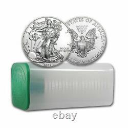2021 1 Oz American Silver Eagle Bu Lot De 20