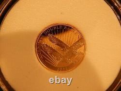 2021 5,00 $ Pièce En Or Double Aigle Coa Mint Nouveau