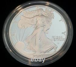 2021 S Proof American Silver Eagle Type 2 Us Mint (21emn)