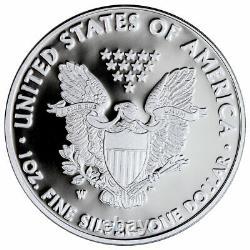 2021 W $1.00 Proof American Silver Eagle Us Mint Confirmed Order Presale