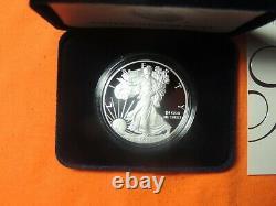 2021 W American Eagle 1 Oz Silver Proof Coin 21ea Lot De 10 Dans Sealed Box