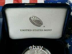2021 W U Mint American Proof 99,93 % Argent Eagle Dollar Type-1 Article 102