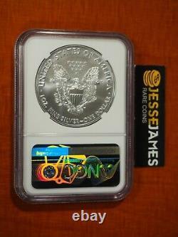 2021 (p) Silver Eagle Ngc Ms70 Er Question D'urgence A Philadelphia Mint