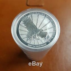 20 X Perth Mint 2019 Australian Wedge Tail Eagle 1 Once Monnaies D'argent Ship Gratuit