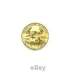 5 $ Pièce D'or D'année Aléatoire De 5 $ En Or De 1/10 Oz D'or À 1/10 Oz D'or