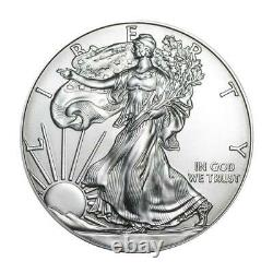 Américaine Silver Eagle 1 Oz Coin Aléatoire Année Lot De 10