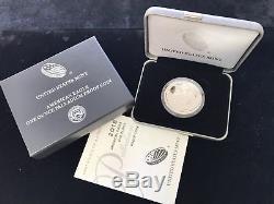 American Eagle 2018 W, Preuve De Palladium, 1 Once. Us $ 25 Menthe Neuf (navire Gratuit) Complet
