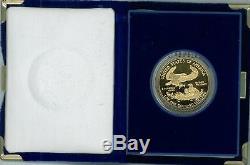 American Eagle Gold Proof 1986-w 50 $ (jusqu'à 10 Pièces) - 1 Boîte De Pièces De Monnaie Us