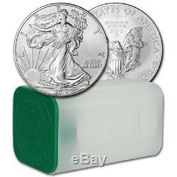 American Silver Eagle 2013 (1 Oz) 1 $ 1 Rouleau De 20 Pièces De 20 Bu En Tube De Menthe
