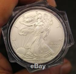 American Silver Eagle Roll 20 $ 20 Ngc Gem Uncirculated De Mint Sealed Box, 2012