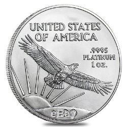 Année Américaine - 100 $ Platinum American Eagle - Pièce De 1 Once - Monnaie Américaine - Année Aléatoire