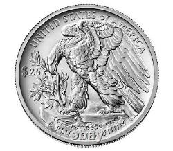 Box Ensemble 2020 American Eagle One Once Palladium Pièce Non Circulée Mint