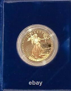 Coins Us 1986 W American Eagle 50 $ Pièce D'or. Certifié À La Monnaie Américaine, Non Classé