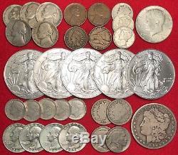 Elite U. S. Coin Collection Lot Bullion Gold 1 Oz. 999 Silver Eagle Coins 100+
