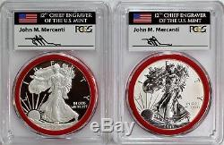 Ensemble De Commémoration 75e Anniversaire De La Silver Eagle S 2012, Série Pcgs Pr70 Mercanti Mint
